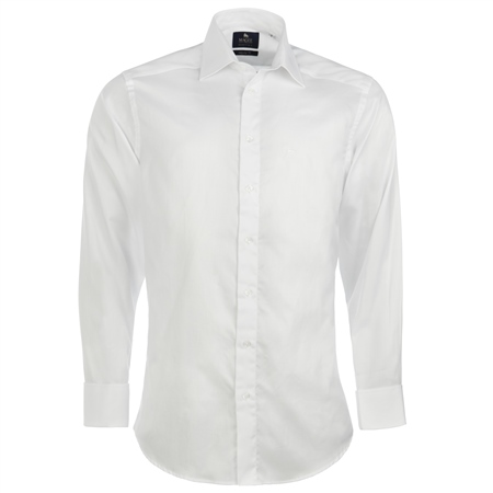 Magee 1866 - White Double Cuff Formal Regular Fit Shirt