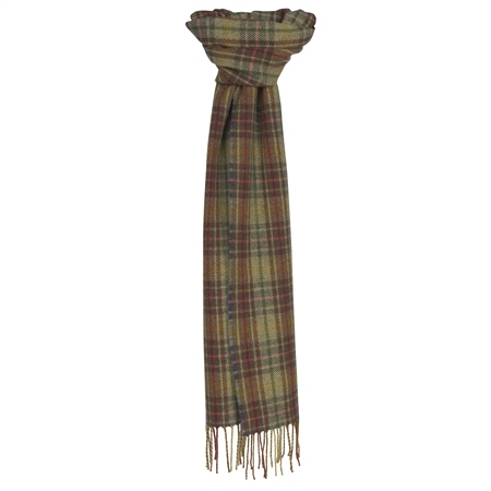 Multicoloured Luxury Plaid Scarf   - Click to view a larger image