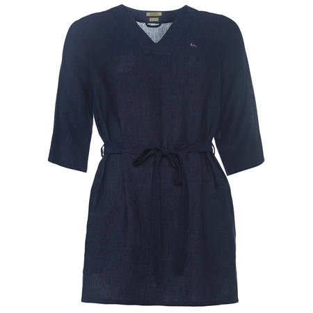 Navy Ella Print Tunic  - Click to view a larger image