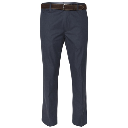 Naran Navy Tailored Fit Trousers  - Click to view a larger image