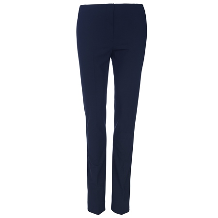 Navy Fahan Skinny Tailored Fit Trousers  - Click to view a larger image