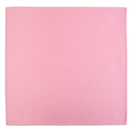 Pink Satin Silk Pocket Square  - Click to view a larger image