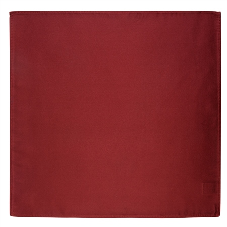 Wine Satin Silk Pocket Square  - Click to view a larger image