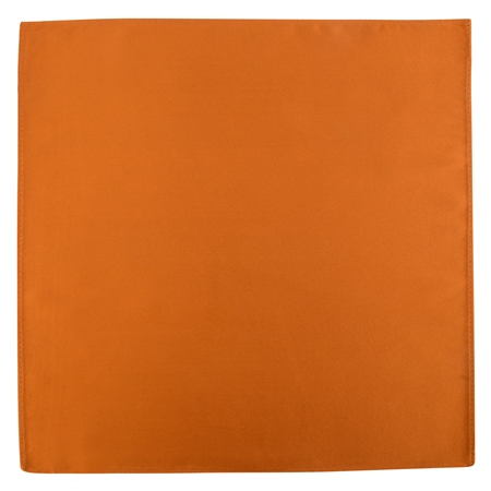 Copper Silk Pocket Handkerchief  - Click to view a larger image