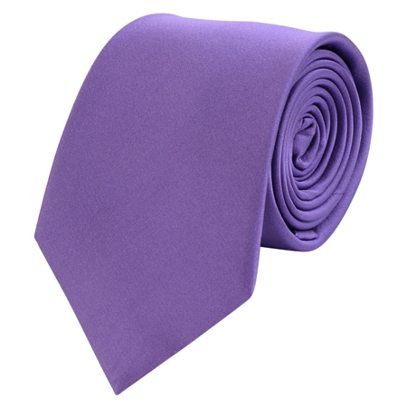 Purple Classic Silk Tie  - Click to view a larger image