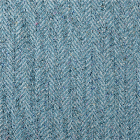 Luxury Blue Herringbone With A Coloured Fleck Design  - Click to view a larger image