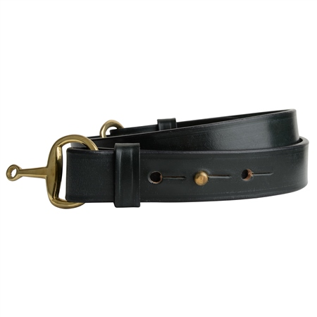 Ashton Luxury Green Leather Belt  - Click to view a larger image