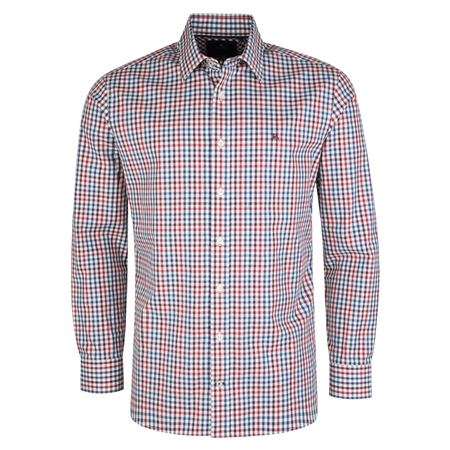 Multicoloured Knockfola Checked Classic Fit Shirt  - Click to view a larger image