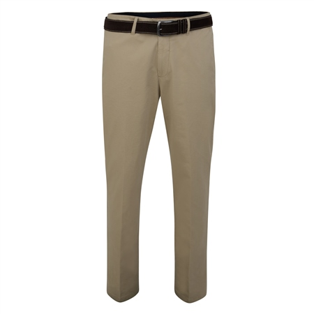 Beige Dungloe Washed Look Classic Fit Trouser  - Click to view a larger image