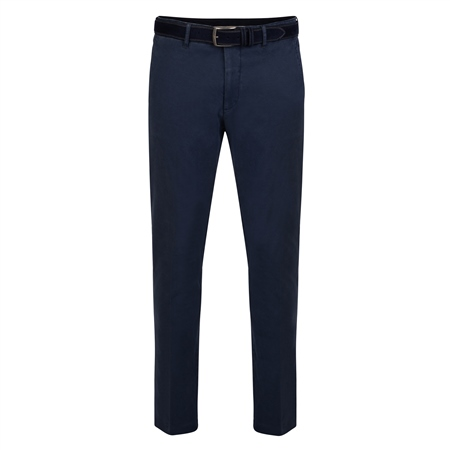 Blue Braide Washed Look Slim Fit Trousers  - Click to view a larger image