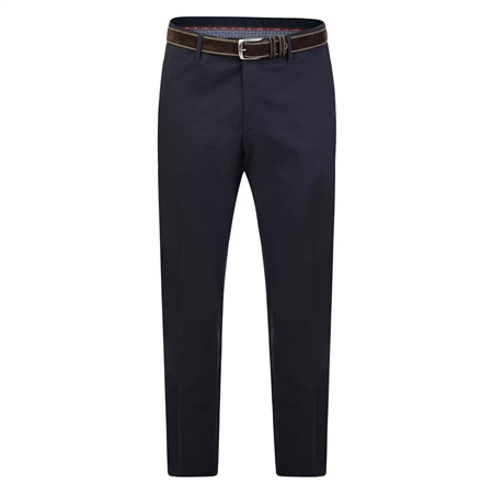 Navy Washed Look Mullaghderg Classic Trouser   - Click to view a larger image