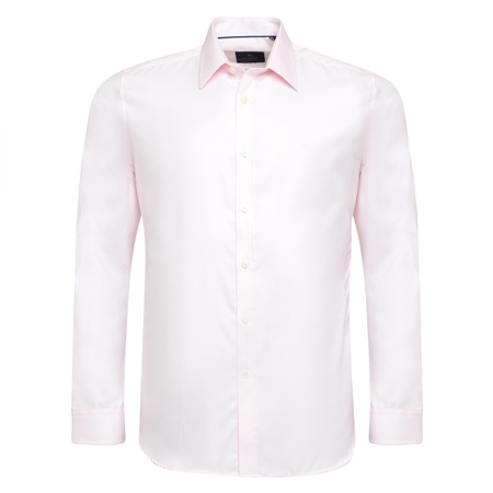 Pink Formal Tailored Fit Dress Collar Shirt  - Click to view a larger image