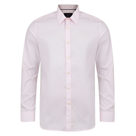 Pink Formal Classic Fit Dress Collar Shirt   - Click to view a larger image