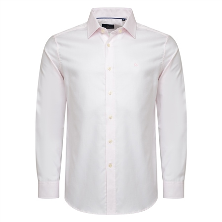 Pink Classic Fit Formal Dress Collar Shirt