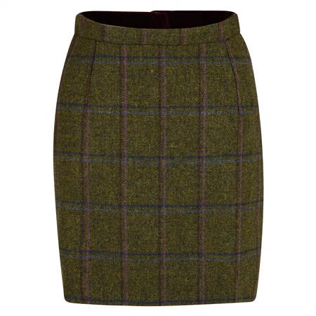 Magee 1866 - Green, Blue & Pink Country Check Carey Skirt