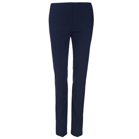 Navy Fahan Tailored Fit Trousers  - Click to view a larger image