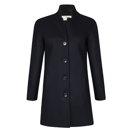 Navy Wool & Cashmere Olivia Coat  - Click to view a larger image
