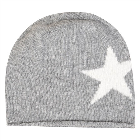Grey Star Hat  - Click to view a larger image