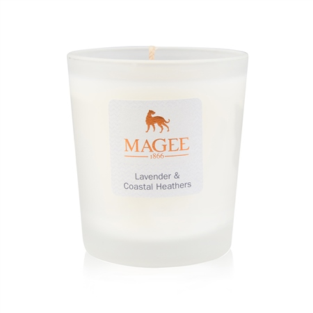 Lavender & Heather Natural Wax Handmade Candle  - Click to view a larger image