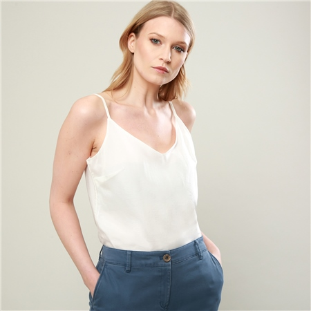Cream Alana Camisole Top  - Click to view a larger image
