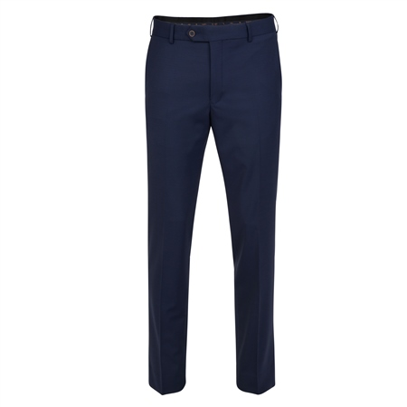Navy Micro Design 3 Piece Tailored Fit Trouser  - Click to view a larger image