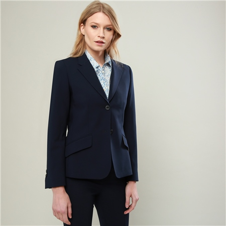 Navy Alicia Suit Jacket  - Click to view a larger image