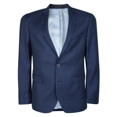 Navy & Blue Tailored Fit Blazer  - Click to view a larger image