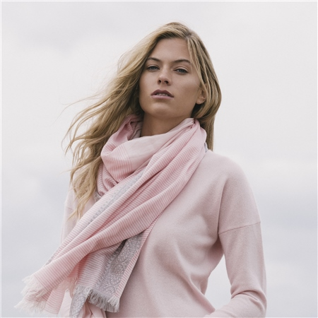 Pink Paloma Cashmere Blend Jumper  - Click to view a larger image