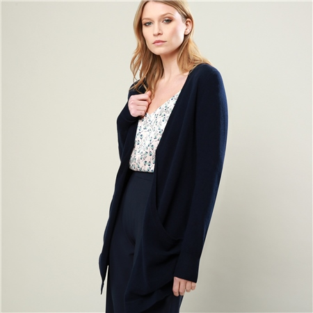 Navy Selina Cardigan  - Click to view a larger image