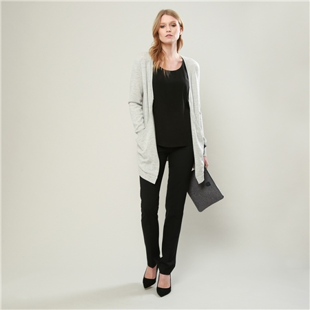 Grey Selina Cardigan  - Click to view a larger image