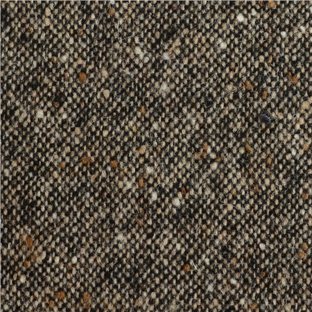 Black, Oat & Brown Salt & Pepper Donegal Tweed  - Click to view a larger image