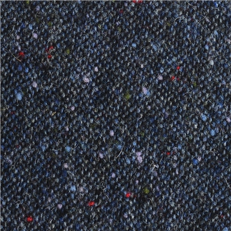 Flecked Blue Salt & Pepper Donegal Tweed  - Click to view a larger image