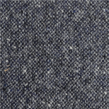 Grey & Blue Salt & Pepper Donegal Tweed  - Click to view a larger image