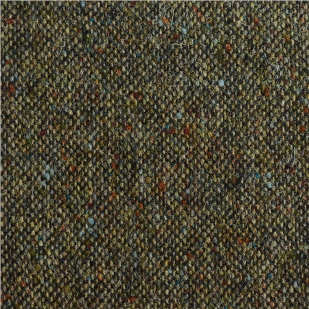 Flecked Green Salt & Pepper Donegal Tweed  - Click to view a larger image