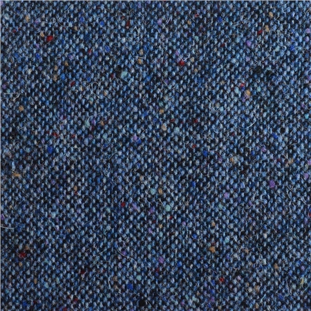 Blue Salt & Pepper Flecked Donegal Tweed  - Click to view a larger image