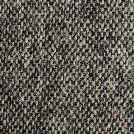 Oat & Black Salt & Pepper Donegal Tweed  - Click to view a larger image