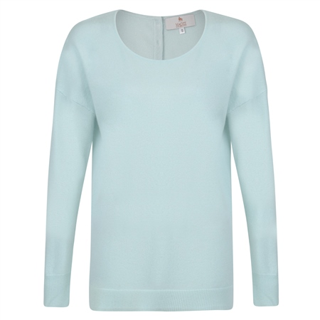 Mint Paloma Cashmere Blend Jumper  - Click to view a larger image