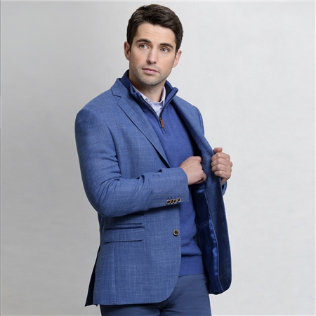 Blue Classic Fit Blazer  - Click to view a larger image