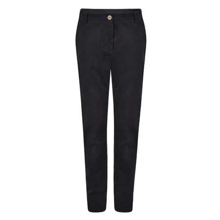 Dark Navy Sandy Needle Cord Trousers  - Click to view a larger image