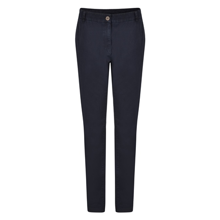 Dark Navy Sandy Washed Trousers  - Click to view a larger image