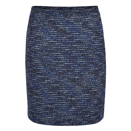 Blue Carey Stretch Skirt  - Click to view a larger image