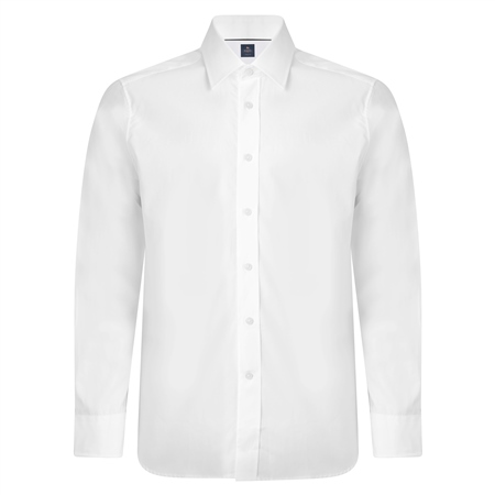 White Altahan Fancy Classic Fit Shirt  - Click to view a larger image