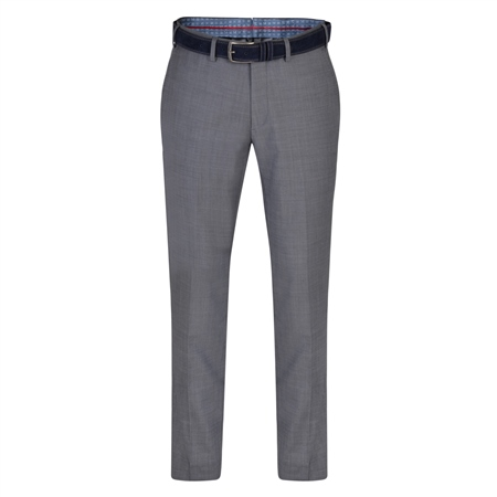 Dark Grey Balloor Classic Fit Trousers  - Click to view a larger image
