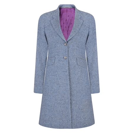 Blue Grace Salt & Pepper Donegal Tweed Jacket  - Click to view a larger image