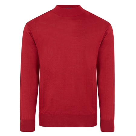 Burgundy Turtle Neck Sweater  - Click to view a larger image