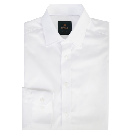 White Doonan Classic Fit Formal Shirt  - Click to view a larger image