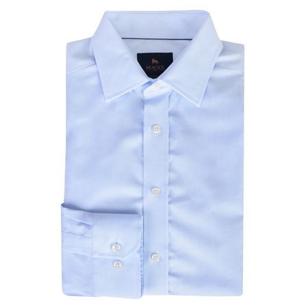 Blue Doonan Classic Fit Formal Shirt  - Click to view a larger image