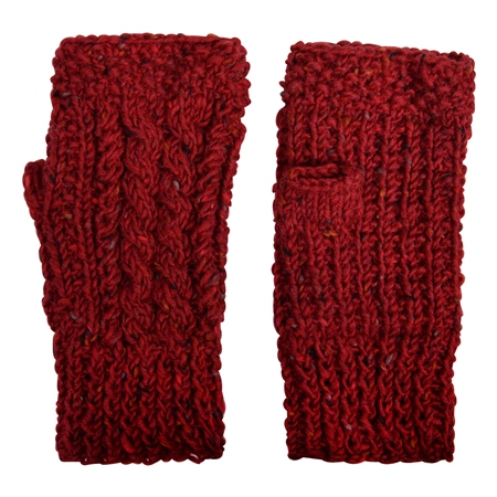 Red Handknits Warmer  - Click to view a larger image