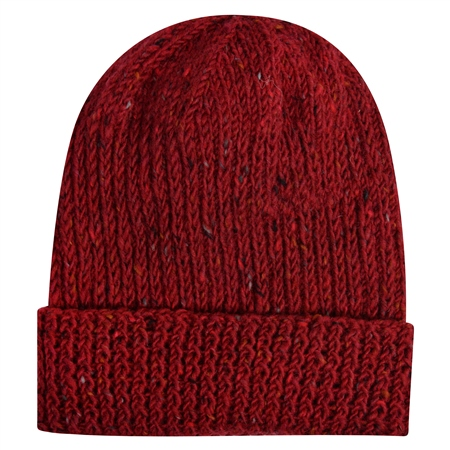 Red Handknits Walkers hat  - Click to view a larger image