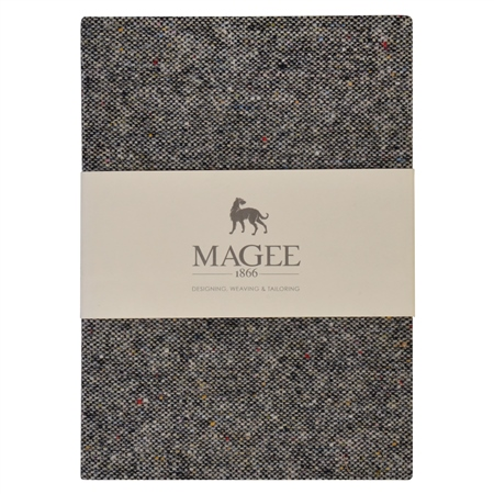 Grey Salt & Pepper Magee Note Book A5  - Click to view a larger image